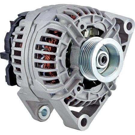 New DB Electrical 400-24276 Alternator for 3.0L 12 Clock 140 Amp Internal Fan Type Solid Pulley Type Internal Regulator CW Rotation 12V SAAB 43348 1998 1999 2000 2001 2002 2003 124525018