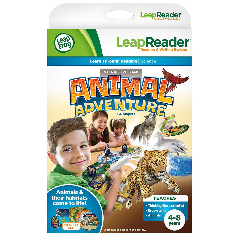 LeapFrog LeapFrog LeapReader Animal Adventure Interactive Board Game