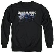 Criminal Minds Season 10 Cast Mens Crewneck Sweatshirt