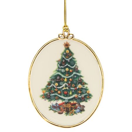 Lenox Halloween Tree Ornaments (Lenox 2018 Trees Around the World Hanging Ornament,)