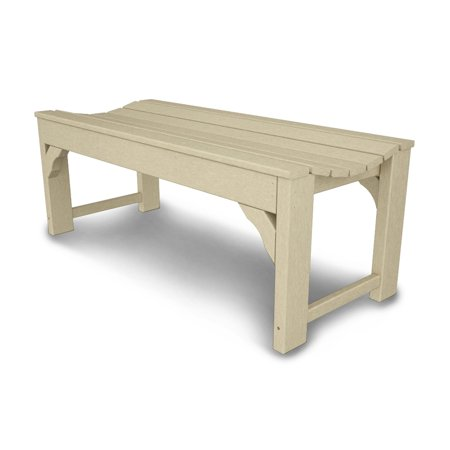 Superb Polywood Traditional Recycled Plastic Backless Garden Bench Gamerscity Chair Design For Home Gamerscityorg