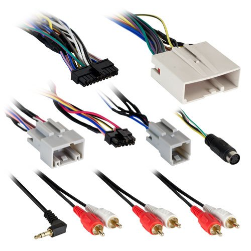 Axxess AX-ADFD01 ADBOX Aftermarket Stereo Installation Harness for 2007-Up Ford Vehicles
