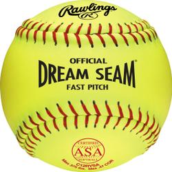 "Rawlings 12"" ASA Pro Tac Dream Seam Fastpitch Softball (DZ) by Rawlings"