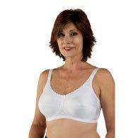 Classique 770 Post Mastectomy Fashion Bra-White-38AA (Bras 38aa)