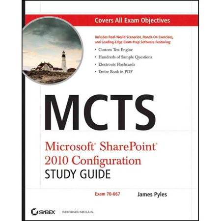 Mcts Microsoft Sharepoint 2010 Configuration Study Guide  Exam 70 667  With Cdrom