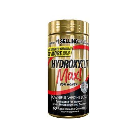 Hydroxycut Pro clinique Max! pour les femmes de perte de poids 60 ch (pack de 3)