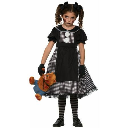 Baby Rag Doll Halloween Costume (Halloween Child Dark Rag Doll)