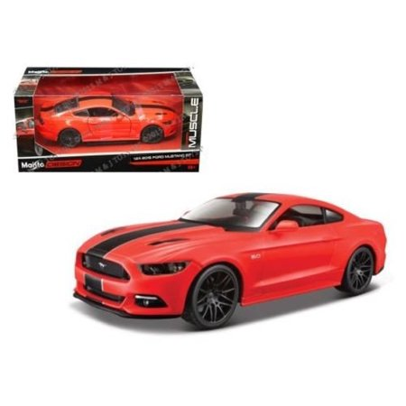 2015 Ford Mustang GT Diecast Vehicle, True-to-scale detail  By