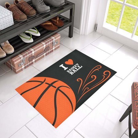 Kentucky Basketball Rug (MKHERT Basketball Doormat Rug Home Decor Floor Mat Bath Mat 23.6x15.7 inch)
