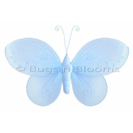 Harriet Bee Kristopher Butterfly Hanging Nylon 3D Wall Decor ...