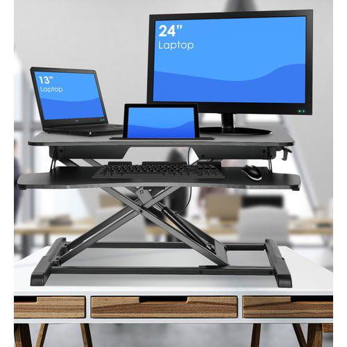 Symple Stuff Wimbish Adjustable Work Station Standing Desk Converter