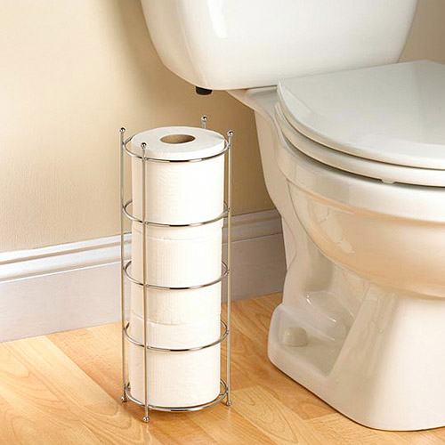 Zenith Products Wire Toilet Paper Storage, Chrome