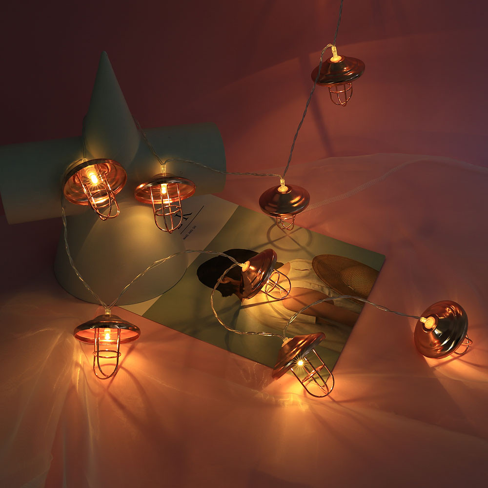 Christmas String Lights Wedding Xmas Party Decor Outdoor Indoor Lamp 1.5M 10 LED