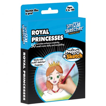 Magic Sketcher (smART sketcher SD pack Royal Princesses USA English)