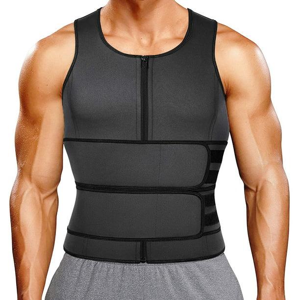 Vaslanda Waist Trainer Vest for Women Weight Loss Neoprene Body Shaper Workout Sauna Sweat Tank Top Adjustable Belt