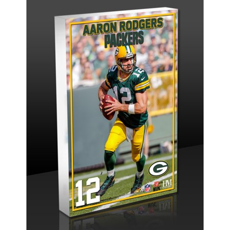- Aaron Rodgers Green Bay Packers Highland Mint - No Size