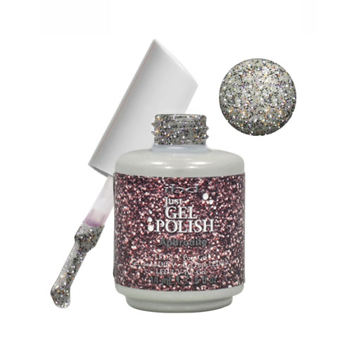 IBD Just Gel 0.5oz Soak Off Nail Polish Silver, APHRODITE, 56542