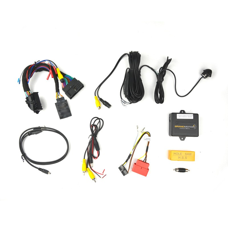 BRANDMOTION 9002-7751 FORD MYTOUCH REAR VISION SYSTEM A FOR FACTORY DISPLAY RADIOS W/ PARKLINES CAMERA