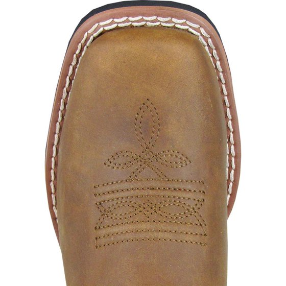 0395852dff2 Smoky Mountain Kid's Mesa Brown Distress/Brown Camo Western Boots 3470