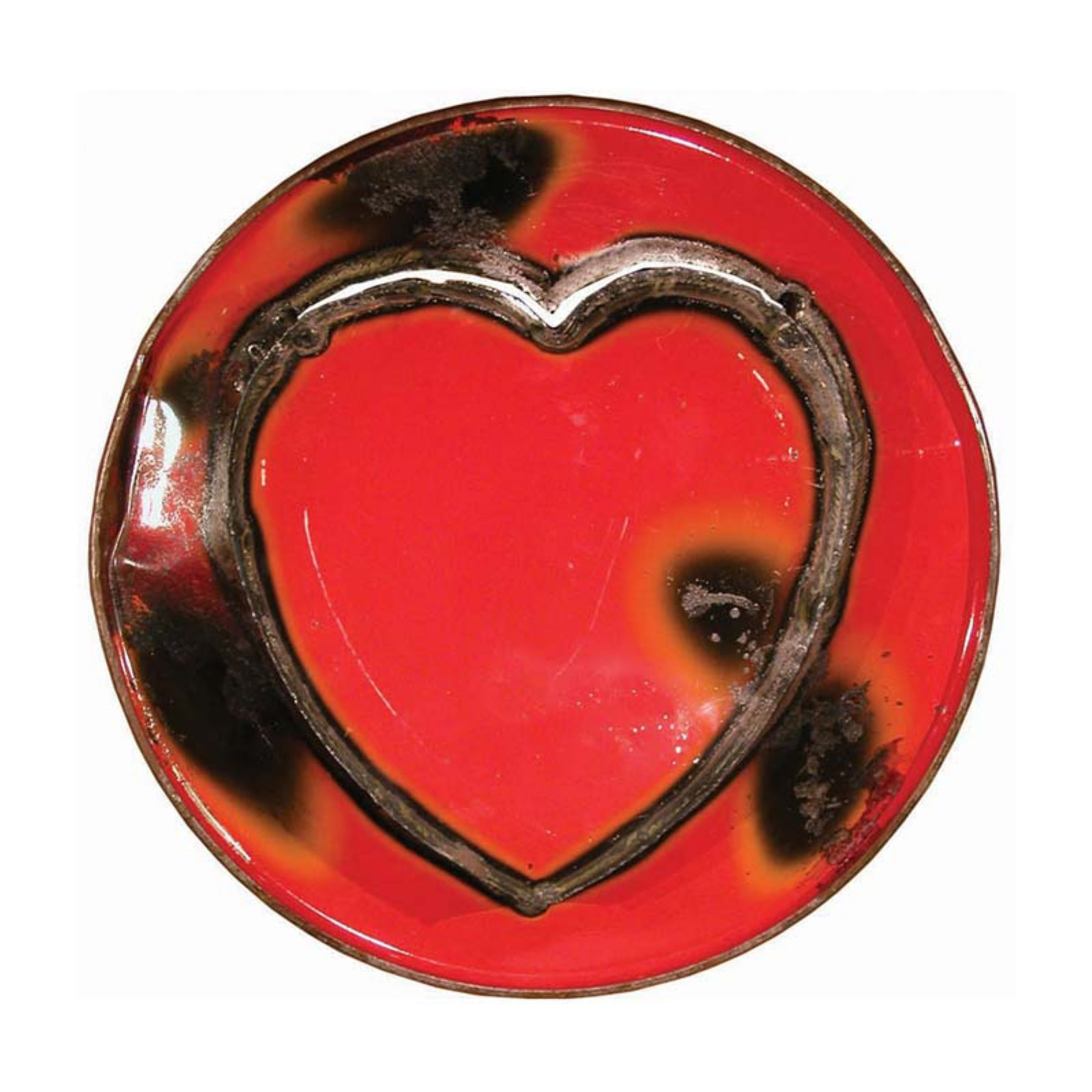 Metal Ruby Love Sign Wall Art