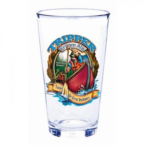 Outside Inside 357151 Backcountry Mountain Ale Pint Glass