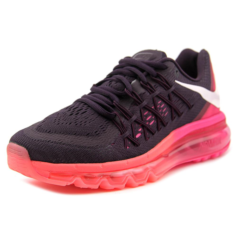 Nike Air Max 2015 Women  Round Toe Synthetic Pink Running...