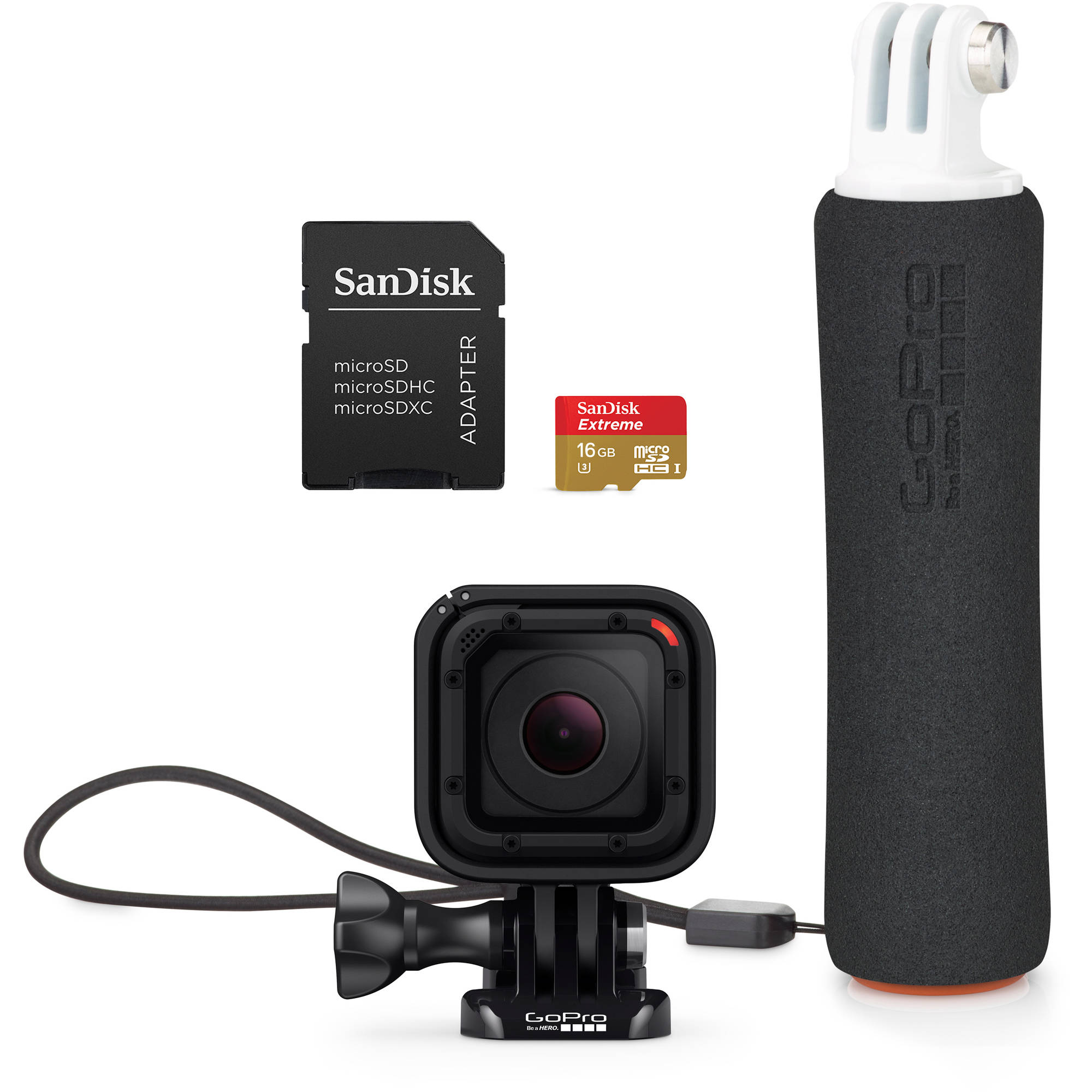 GoPro HERO4 Session Camera Bonus Bundle (0818279018806)