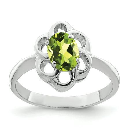b58f5fa34ff14 Ice Carats Designer Jewelry Gift USA - 925 Sterling Silver Green ...