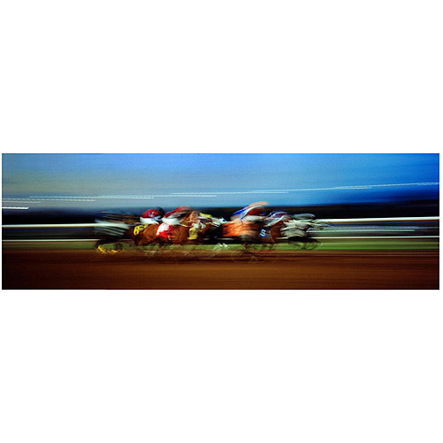 "Trademark Art ""Finish Line"" Canvas Art by Preston"
