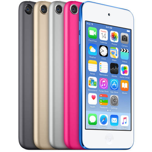 Apple iPod touch 64GB (6th Generation - Latest Model), Assorted Colors
