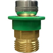 KAPAS Washer Snap Coupling Adapter, Dishwasher Adapter for Faucet, 15/16 in.-27M or 55/64 in.-27F x 3/4 in. GHTM, Brass (10521), Brass/Antique Brass Washing Machine Connect to Sink Watertap