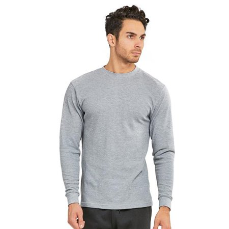 Mens Crew Neck Solid Cotton Top - Heather Grey, Large We present you a vast array of stylish Mens Clothing items that would leave you spoilt for choice. You can select from high quality, impressive styles for any occasion or everyday wear.- SKU: ZX9FRZY4664