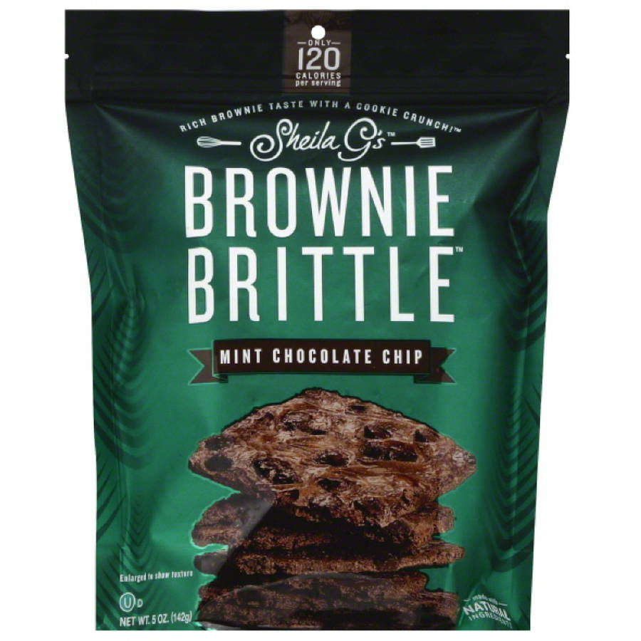 Brownie Brittle Mint Chip, 5 Oz (pack Of