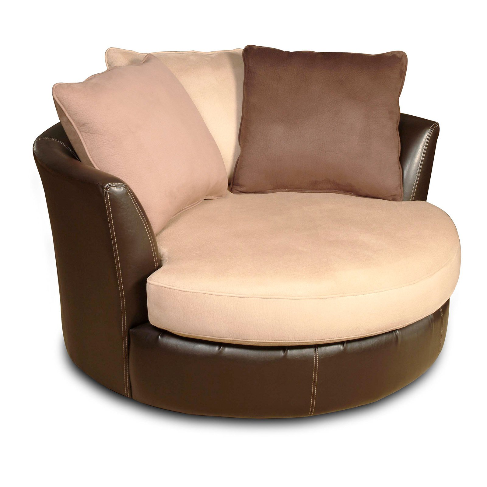 Chelsea Home Furniture Newport Swivel Chair Laredo Mocha