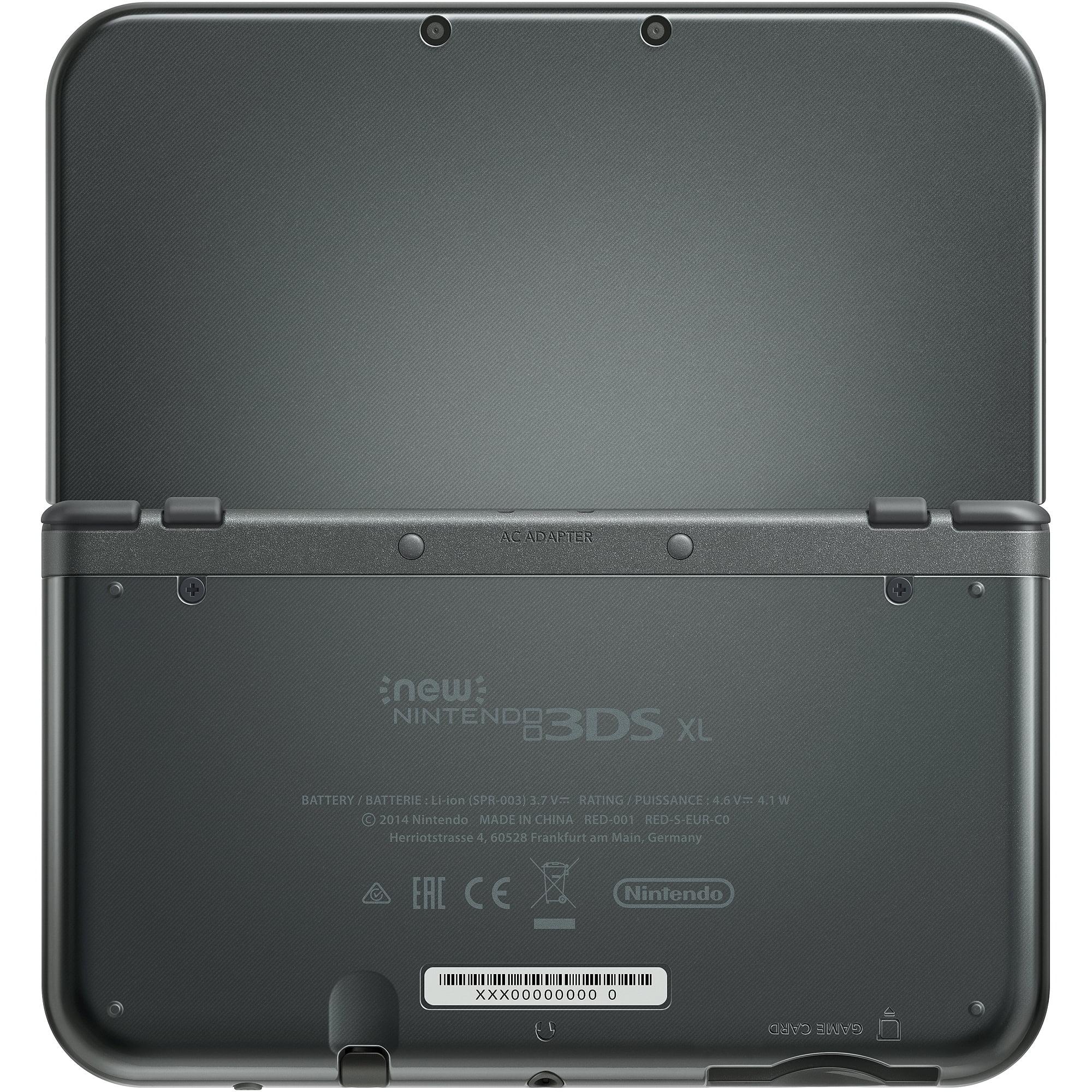 New Nintendo 3ds Xl Black 045496781514 Walmart Com