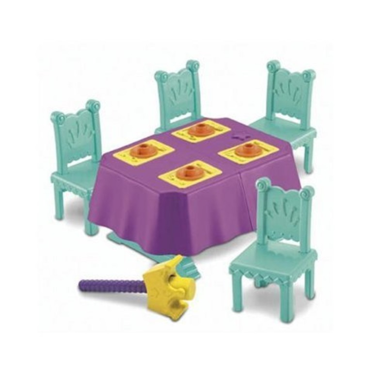 Fisher Price Dining Room Playset Dora the Explorer Magical Castle by