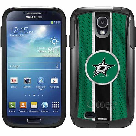 Dallas Stars Jersey Stripe Design on OtterBox Commuter Series Case for Samsung Galaxy S4 (S4 Dallas Halloween)