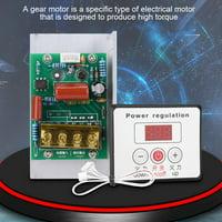 Greensen 6000W SCR Digital Voltage Regulator Speed Control Dimmer Thermostat AC 220V