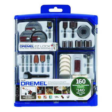 Dremel 710-08 160 Pc All Purpose Accessory Set