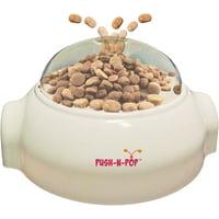 SPOT Push N? Pop - Interactive Slow Feeding Dog Food Dispenser - Mental Stimulation, Entertaining, Durable Ethical Pets