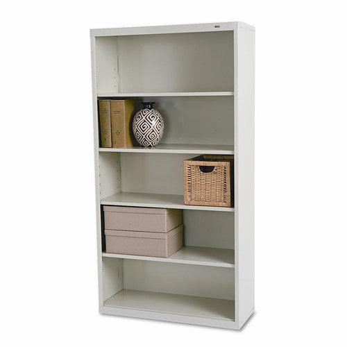 Tennsco Corp. Metal Bookcase, 5 Shelves