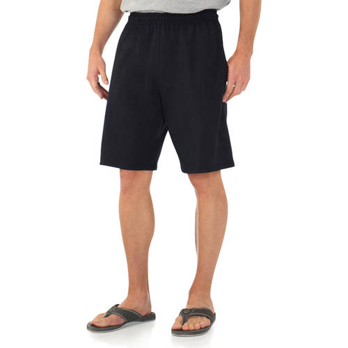 Fruit of the Loom Mens Jersey Short with Pockets