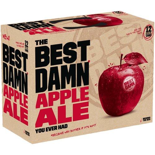 The Best Damn Apple Ale, 12 fl oz, 12 pack