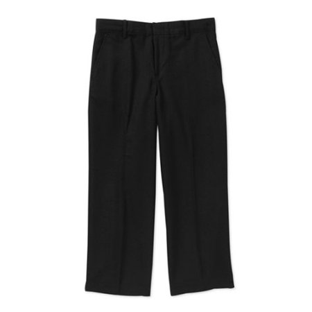 School Uniform Boys' Husky Flat Front Dress Pant - Boys 70s Clothes