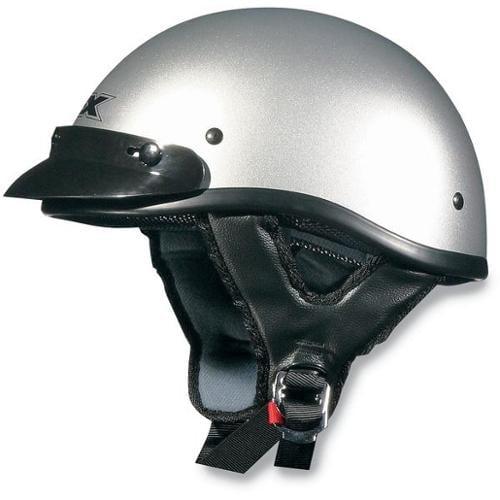 AFX FX-70 Beanie Solid Helmet Silver