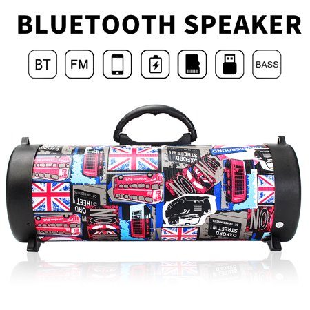 FM Portable bluetooth Speaker Used as a bible player Wireless Stereo Loud Super Bass Sound Aux USB TF ❤HI-FI❤Outdoor/Indoor Use❤Best Christmas gift❤4