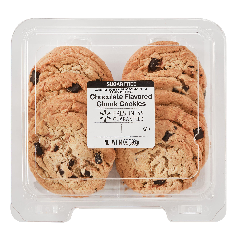 The Bakery Sugar Free Chocolate Chunk Cookies 14oz