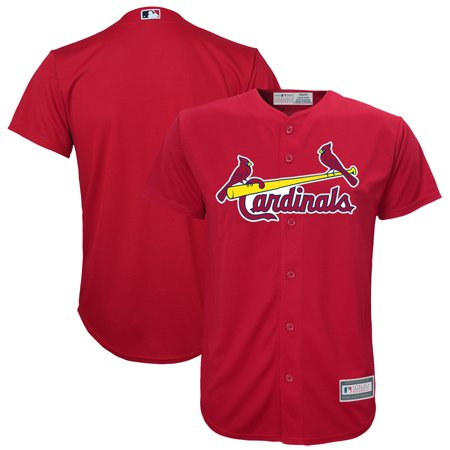 Blank Spirit Jersey (St. Louis Cardinals Youth Alternate Replica Blank Team Jersey -)