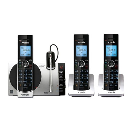 VTech DS6771-3 and DS6072 Phone w/ 3 Cordless - Iii Telephone
