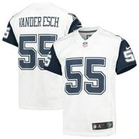 Leighton Vander Esch Dallas Cowboys Nike Youth Color Rush Game Jersey - White